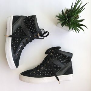 Rebecca Minkoff High Top Sneakers❣️